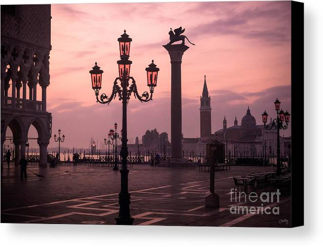 lamppost of venice canvas print canvas art by prints of italy
