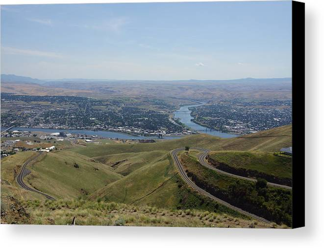 Lewiston Idaho And Clarkston Washington Canvas Print Canvas Art By
