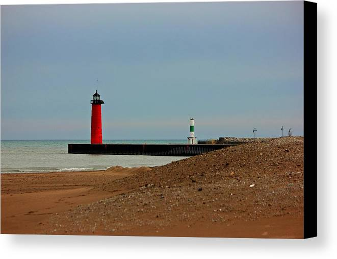 Lighthouse Canvas Print featuring the photograph Light The Way by Joel Rams