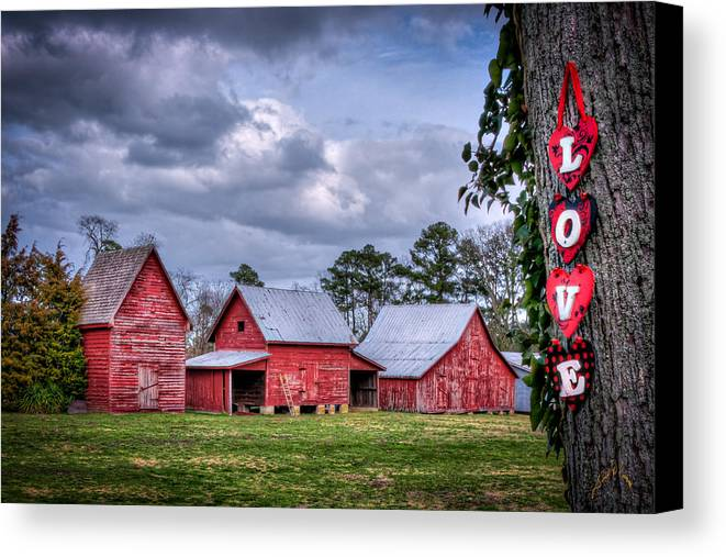 Smithfield Canvas Print featuring the photograph Love The Barns At Windsor Castle by Williams-Cairns Photography LLC