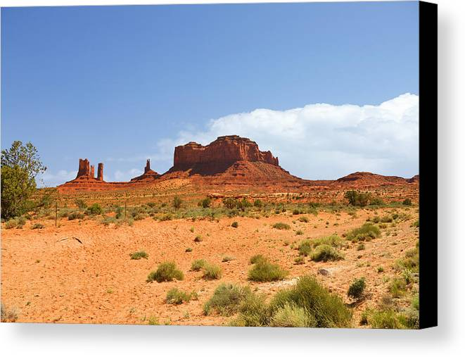 Monument Canvas Print featuring the photograph Magnificent Monument Valley by Christine Till