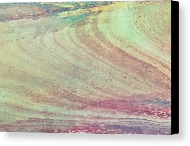 Marble Canvas Print featuring the photograph Marble Background by Tom Gowanlock