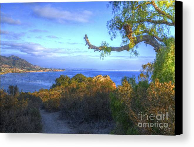 Landscape Canvas Print featuring the photograph Masterpiece Coastline by Mathias