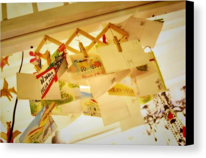 Cicada Canvas Print featuring the photograph Memory Of Cicada by Suradej Chuephanich