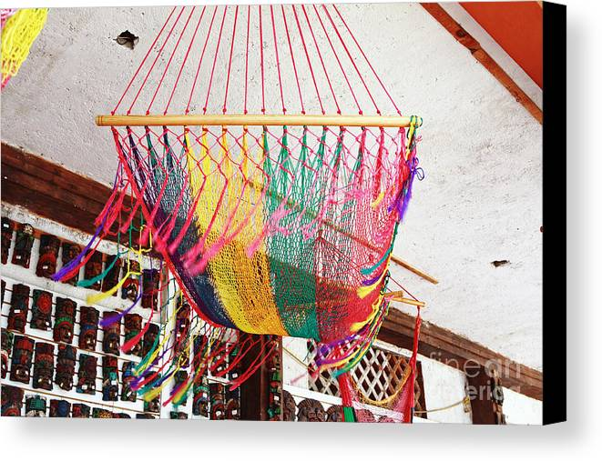 Mexico Canvas Print featuring the photograph Mexican Souvenir by Charline Xia