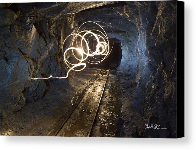 Mine Canvas Print featuring the photograph Mine by Charlie Duncan
