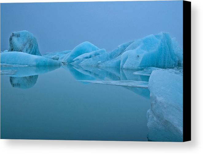 Iceland Canvas Print featuring the photograph Mist Opportunity by Jim Southwell