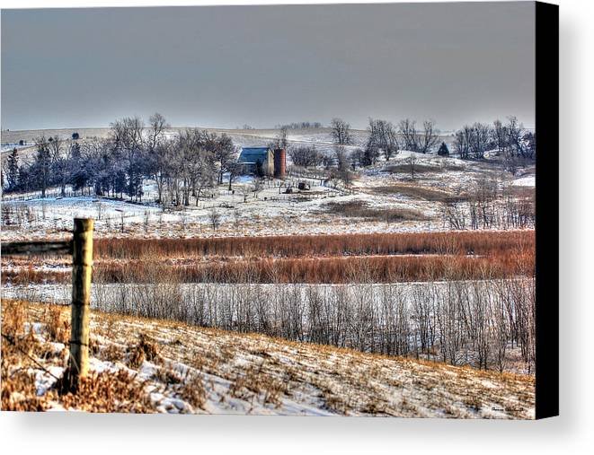 Landscape Canvas Print featuring the photograph Moments by Thomas Danilovich