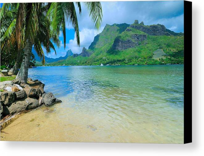 Moorea Canvas Print featuring the photograph Moorea On My Mind by Jim Southwell