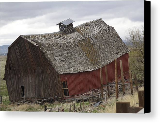 High Desert Canvas Print featuring the photograph Mother Nature Wins by Just Jeri Photography