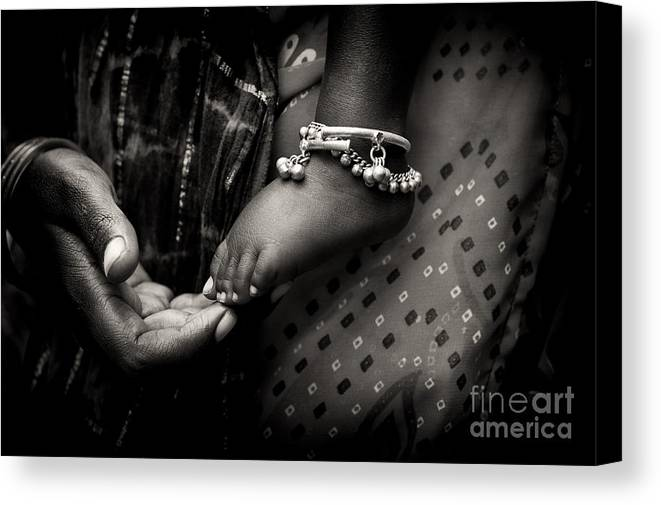 Mother Canvas Print featuring the photograph Mothers Love by Tim Gainey