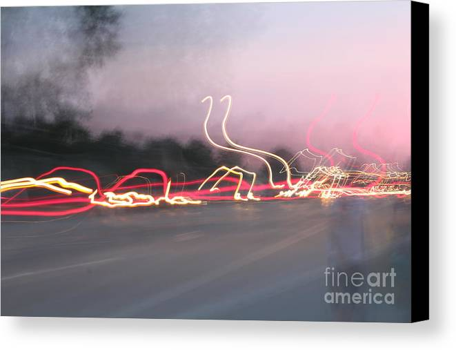Light Canvas Print featuring the photograph Movement by Stephanie Kripa