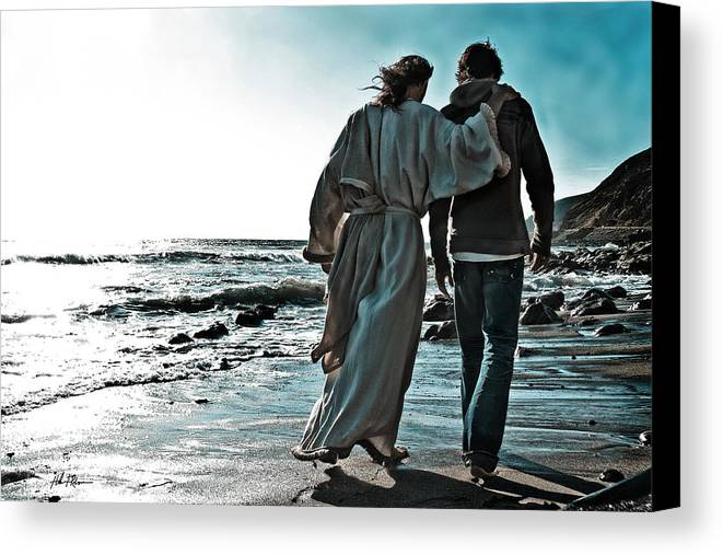 My Friend Canvas Print featuring the photograph My Friend by Helen Thomas Robson