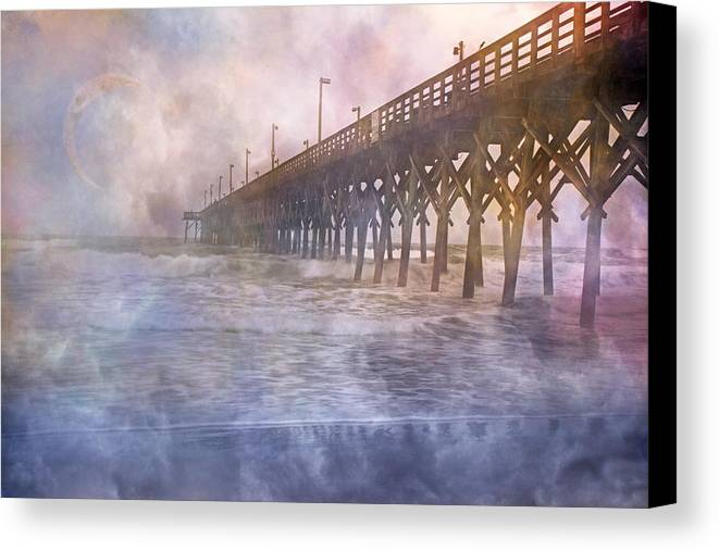 Topsail Canvas Print featuring the photograph Mystical Morning by Betsy C Knapp