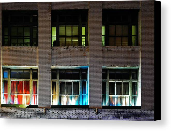 Night Canvas Print featuring the photograph New Orleans Late Night by Christine Till