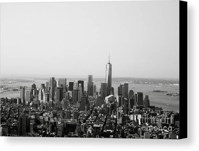 New York Canvas Print featuring the photograph New York City by Linda Woods