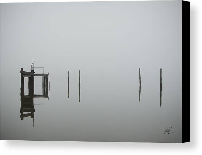 Ware River Canvas Print featuring the photograph No Ware by Williams-Cairns Photography LLC