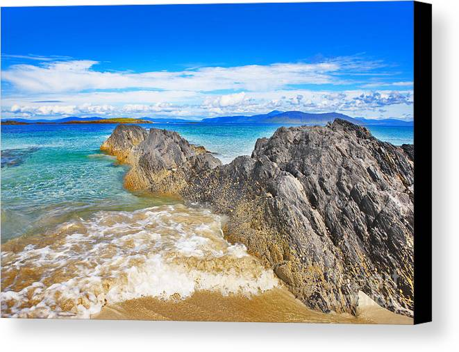 Beach Canvas Print featuring the photograph North Beach by Lynne Sutherland