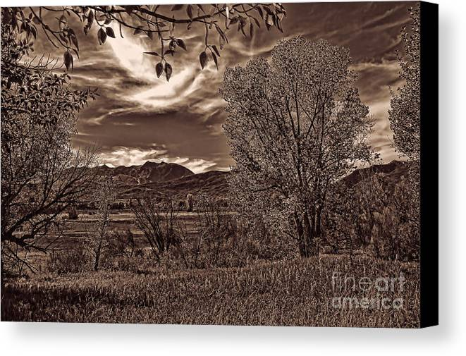 Ogden Valley I Canvas Print featuring the photograph Ogden Valley I by Brenton Cooper