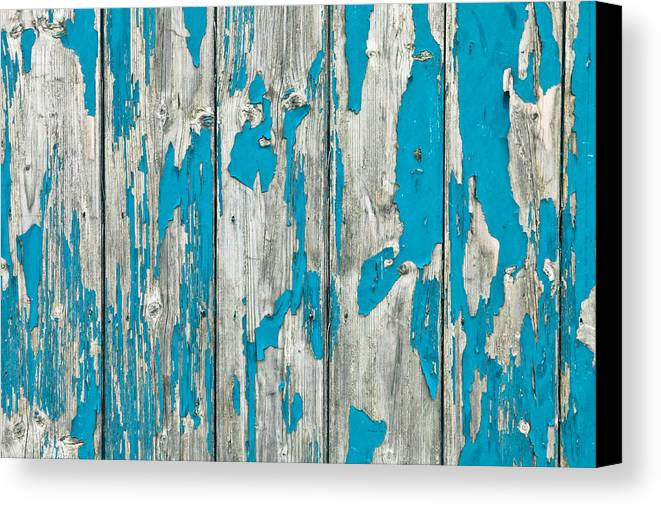 Abstract Canvas Print featuring the photograph Old Wood by Tom Gowanlock