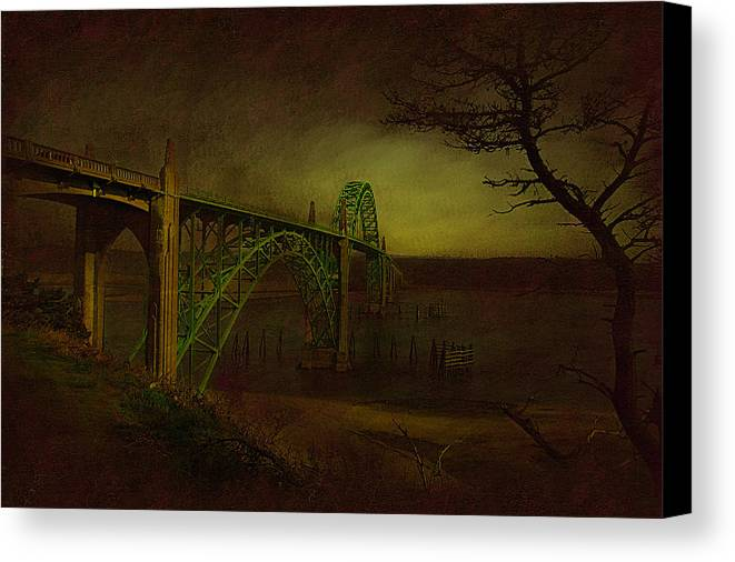 Oregon Canvas Print featuring the photograph Oregon Light by Jeff Burgess