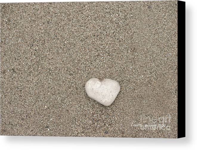 Ocean Canvas Print featuring the photograph Our Beach Memories by Artist and Photographer Laura Wrede