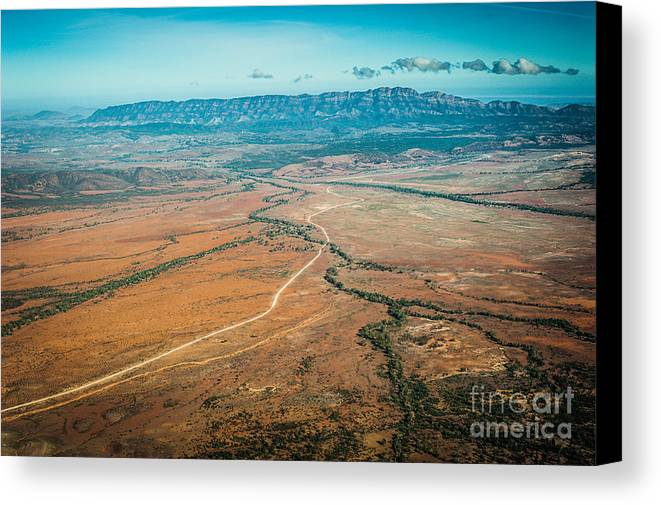 Outback Canvas Print featuring the photograph Outback Flinders Ranges by Ray Warren