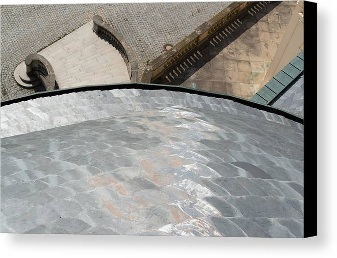 Solitude Canvas Print featuring the photograph Palace Of The Solitude In Stuttgart - Germany From Above by Frank Gaertner