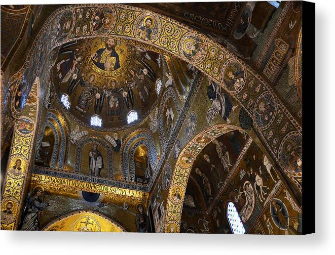 Palace Canvas Print featuring the photograph Palatine Chapel by RicardMN Photography