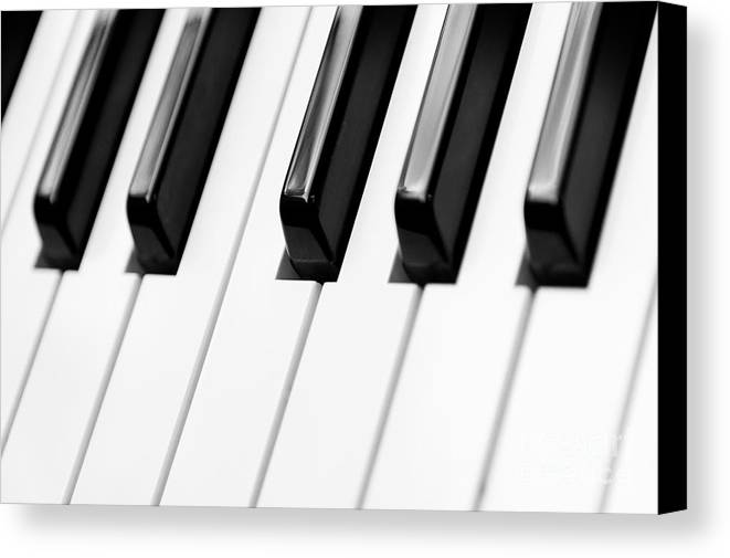 Accord Canvas Print featuring the photograph Piano by Svetlana Sewell