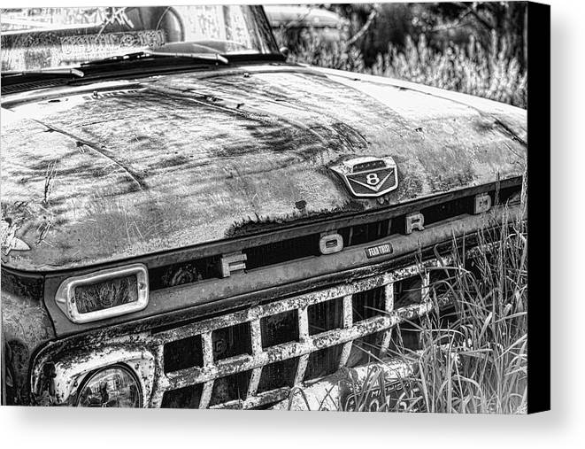 Truck Canvas Print featuring the photograph Pickup Truck 2 by John Crothers