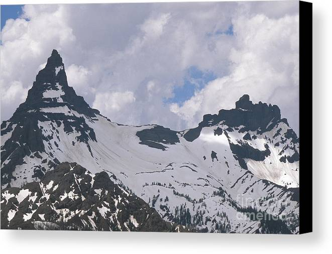 Absaroka Canvas Print featuring the photograph Pilot And Index by Chris Selby
