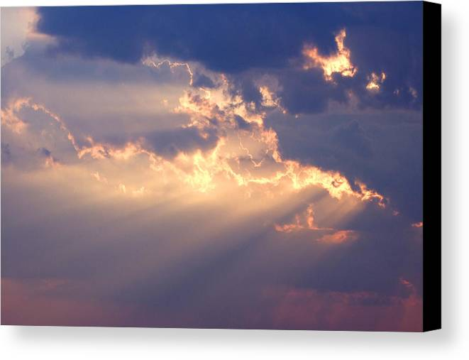 Sky Canvas Print featuring the photograph Reach For The Sky 2 by Mike McGlothlen