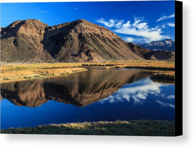 Jmp Photography Canvas Print featuring the photograph Reflective Isolation by James Marvin Phelps