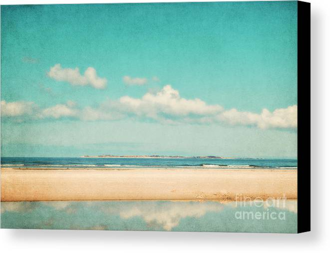 North Sea Canvas Print featuring the photograph Relax by Angela Doelling AD DESIGN Photo and PhotoArt