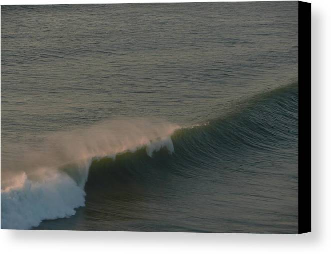 Waves Canvas Print featuring the photograph Ride The Wave by Kazy Moon