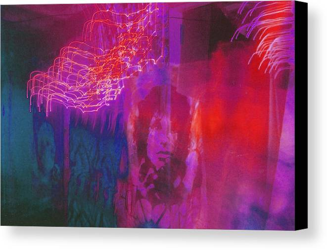 Psychedelic Canvas Print featuring the photograph Riders Of The Storm by Brian Nogueira