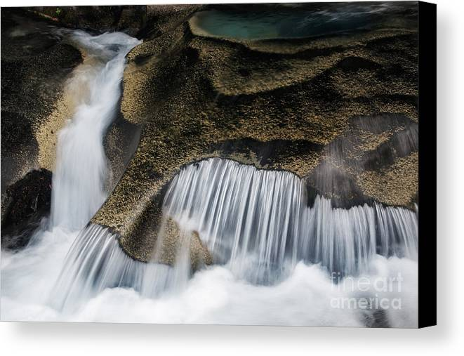 America Canvas Print featuring the photograph Rocks In Paradise by Inge Johnsson