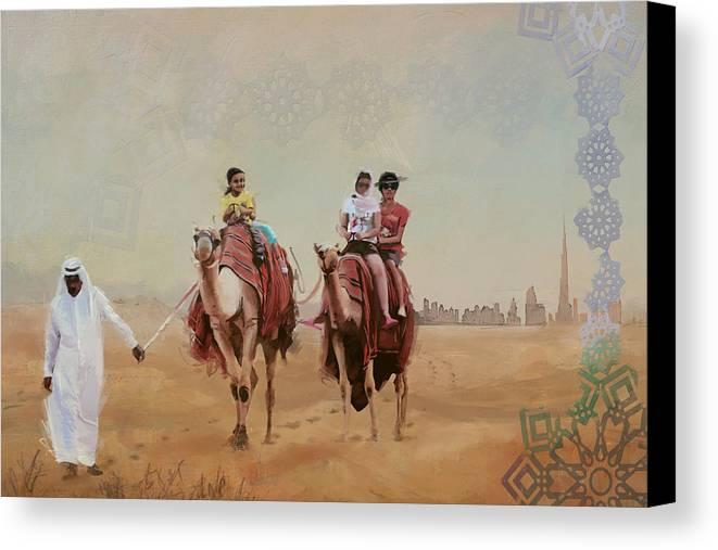 Saharan Culture Canvas Print Canvas Art By Corporate Art