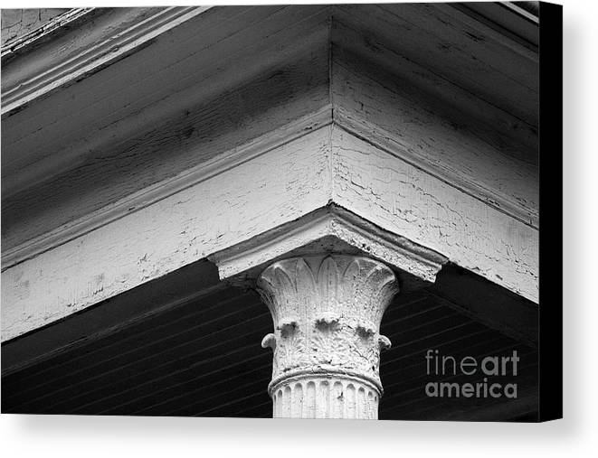 School House Canvas Print featuring the photograph School House by Steven Macanka