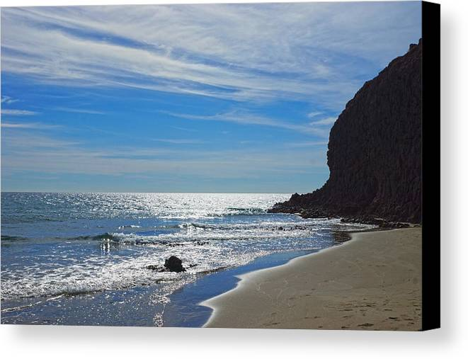 Beach Canvas Print featuring the photograph Sea Sand And Light by Digby Merry