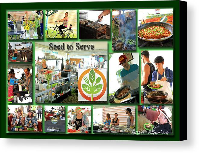 Seed To Serve Rw2k14 Canvas Print featuring the photograph Seed To Serve Rw2k14 by PJQandFriends Photography