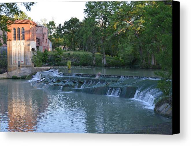 Architectur Canvas Print featuring the photograph Seguin Tx 02 by Shawn Marlow