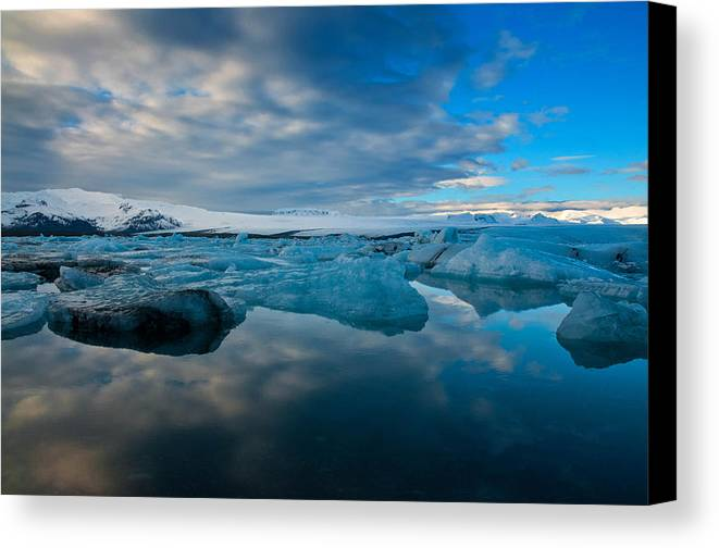 Landscape Canvas Print featuring the photograph Serene by Jim Southwell