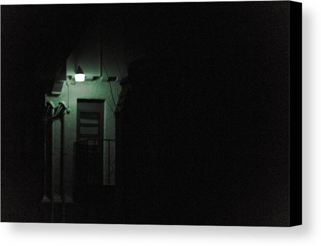 Gothic Canvas Print featuring the photograph Side Entrance by Jacin Buchanan