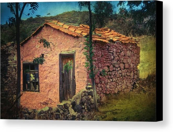 Village Canvas Print featuring the photograph Sighed by Taylan Apukovska