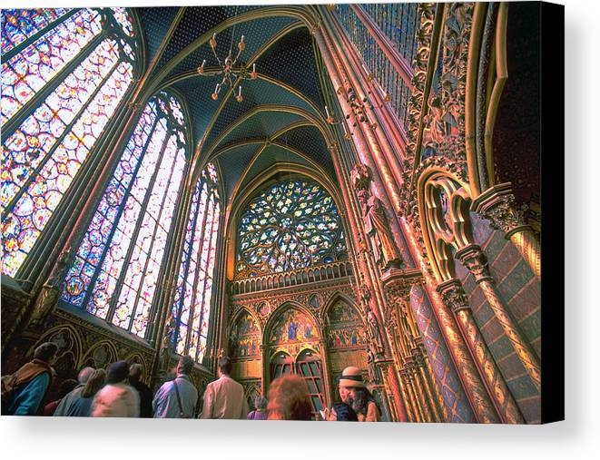 St. Chapel Canvas Print featuring the photograph St. Chapel by Rene Sheret