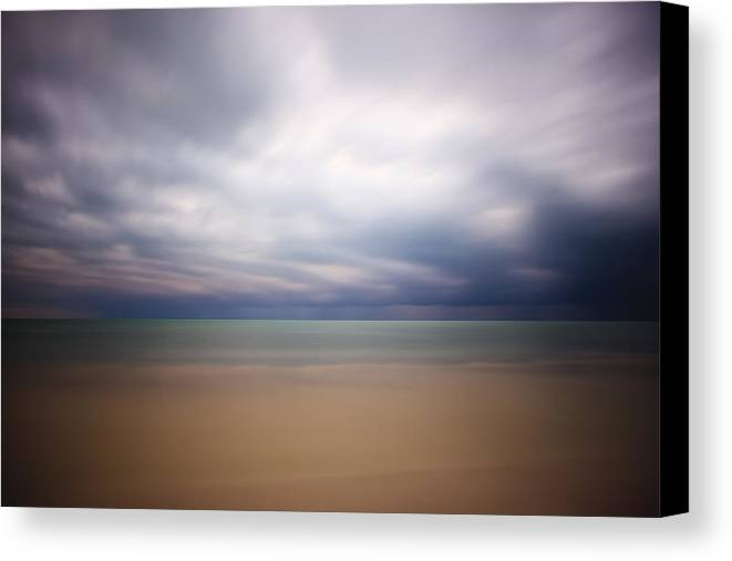 3scape Photos Canvas Print featuring the photograph Stormy Calm by Adam Romanowicz