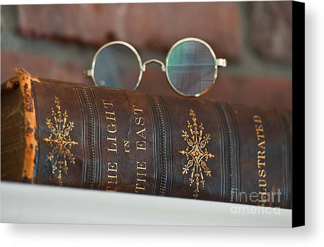 Fine Art Canvas Print featuring the photograph Studious by Valerie Garner