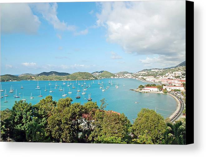 St Thomas Canvas Print featuring the photograph Sunny St Thomas by Aimee L Maher ALM GALLERY